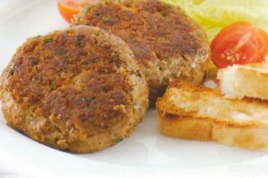 Beef and Lentil Burgers
